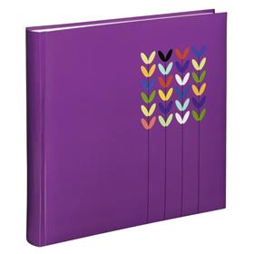Hama album klasické BLOSSOM 30x30 cm, 80 stran, fialová
