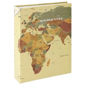 Hama album memo WORLD MAP 10x15/200, popisové štítky