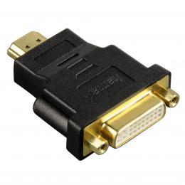 Hama redukce HDMI vidlice - DVI-D zásuvka, pozlacená