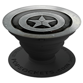 PopSockets MARVEL Captain America Monochrome