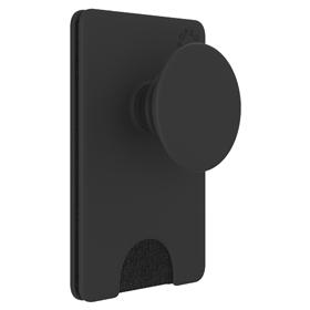 PopSockets PopWallet  Black, pouzdro na karty/vizitky apod. s integrovaným PopGrip Gen.2