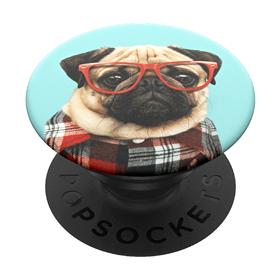 PopSockets PopGrip Gen.2, Studios Stu, mopsík-student