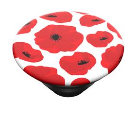 PopSockets PopTop Gen.2, Scandi Poppies, èervené máky, výmìnný vršek