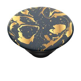 PopSockets PopTop Gen.2, Gilded Swirl, zlatá spirála na èerném pozadí, výmìnný vršek