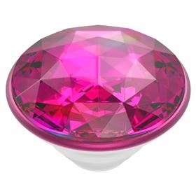 PopSockets PopTop Gen.2, Disco Crystal Plum Berry, 3D disco koule rùžovo-fialová, výmìnný vršek