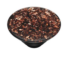 PopSockets PopTop Gen.2, Foil Confetti Copper, kousky mìdìné folie v pryskyøici, výmìnný vršek