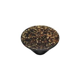 PopSockets PopTop Gen.2, Foil Confetti Gold, kousky zlaté fólie v pryskyøici, výmìnný vršek