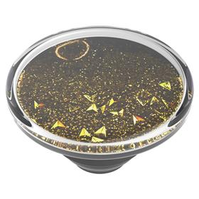 PopSockets PopTop Gen.2, Tidepool Golden, zlaté tøpytky v tekutinì, výmìnný vršek