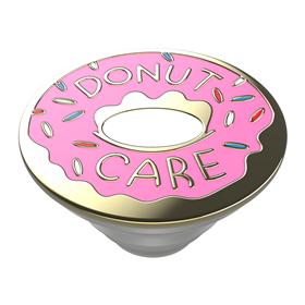 PopSockets PopTop Gen.2, Donut Care Enamel, smalt kov, rùžová kobliha, výmìnný vršek