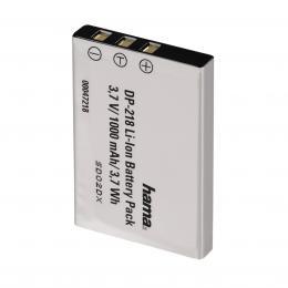 Hama fotoakumulátor Li-Ion 3,7V/ 1000 mAh, typ NP-60/KLIC 5000/D-Li2/R07/Li-20B