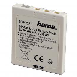 Hama fotoakumulátor Li-Ion 3.7V/ 700 mAh, typ Fuji NP-40, Pentax D-Li8