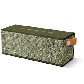 FRESH  N REBEL Rockbox Brick Fabriq Edition Bluetooth reproduktor, Army, vojenská zelená