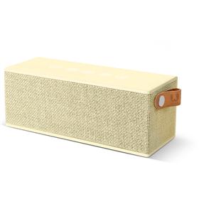 FRESH  N REBEL Rockbox Brick Fabriq Edition Bluetooth reproduktor, Buttercup, svìtle žlutý