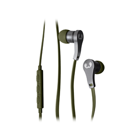 FRESH  N REBEL Lace Earbuds sluchátka, Army, vojenská zelená