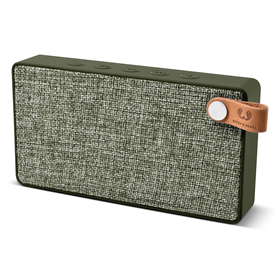 FRESH  N REBEL Rockbox Slice Fabriq Edition Bluetooth reproduktor, Army, vojenská zelená