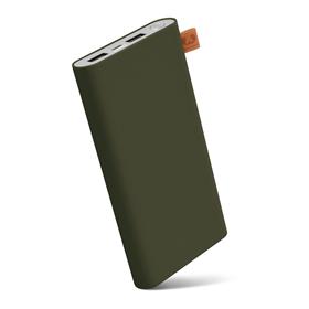 FRESH N REBEL Powerbanka 12000 mAh, 3,1 A (max.), 2 porty, Army, vojenská zelená (verze 2018)