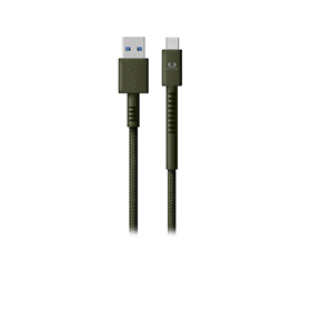 FRESH N REBEL Fabriq USB Type-C kabel, 1,5 m, Army, vojensky zelený