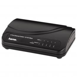 Hama 5-Port Switch 100/10 Mbps