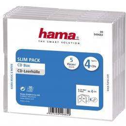 Hama CD Slim Jewel Case 4