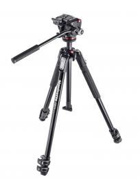 Manfrotto MK 190X3-2W, SET stativu øady 190 a dvoucestné video hlavy XPRO-2, hliníkový tøísekèní