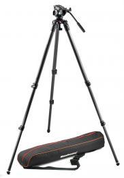 Manfrotto MVK 500C, SET karbonový video stativ 535 a video hlava serie 500