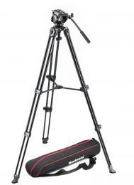 Manfrotto MVK 500AM, SET hliníkový video stativ a video hlava serie 500