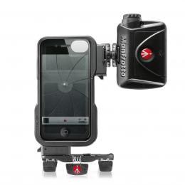 Manfrotto MKPLKLYP0, stativový obal KLYP na iPhone 4/4S   LED svìtlo ML240   stativ POCKET