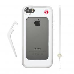 Manfrotto MCKLYP5S-W, BUMPER pro iPhone 5/5s, barva bílá