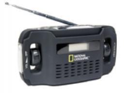 Rádio se solárním panelem Bresser National Geographic