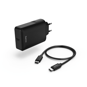 Hama s�ov� USB nab�je�ka Power Delivery, USB-C kabel, 45W