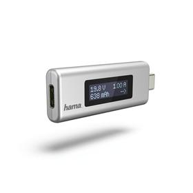 Hama USB-C indikátor nabíjení, napìtí/ proud/ kapacita