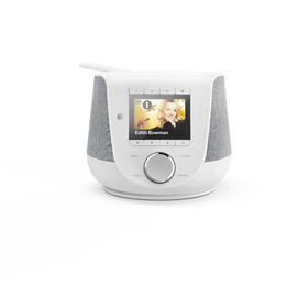 Hama digitální a internetové rádio DIR3200SBT, FM/DAB/DAB /, Bluetooth, bílé