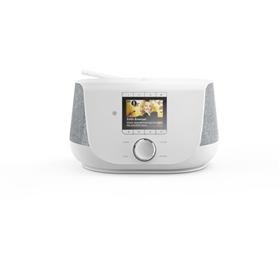 Hama digitální a internetové rádio DIR3300SBT, FM/DAB/DAB /, Bluetooth, bílé