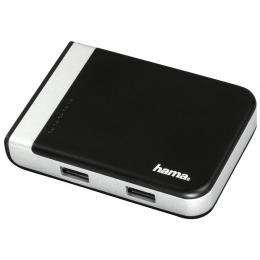 Hama USB 3.1 hub/�te�ka karet s USB-C adapt�rem