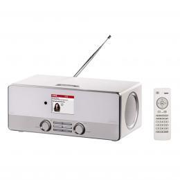 Hama digitální rádio DIR3110, DAB , internetové rádio, FM/A, bílé