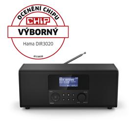 Hama digitální a internetové rádio DIR3020, FM/DAB/DAB
