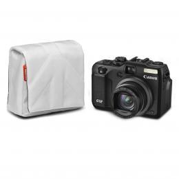 Manfrotto STILE SCP-5SW NANO, pouzdro na kompaktní fotoaparát vel.5, bílá
