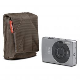 Manfrotto STILE SCP-BC NANO, pouzdro na kompaktní fotoaparát vertical, olivovì hnìdá