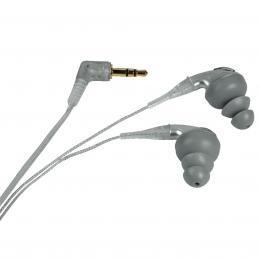 Hama sluchátka HK-206, šnekové špunty, barva šedá