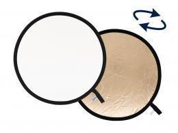 Lastolite Collapsible Reflector 30cm Sunfire/White (LR1206)