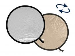 Lastolite Collapsible Reflector 30cm Sunlite/Soft Silver (LL1228)