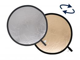 Lastolite Collapsible Reflector 30cm Sunfire/Silver (LR1236)