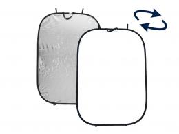 Lastolite Collapsible Panelite Reflector 1.8 x 1.2m Silver/White (LR7231)