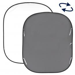 Lastolite Plain Collapsible 1.8 x 2.15m White/Mid Grey (LB67GW)