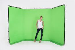 Lastolite Panoramic Background Cover 4m Chromakey Green (LB7626)