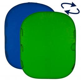 Lastolite Collapsible Reversible 1.8 x 2.1m Chromakey Blue/Green (LC5987)