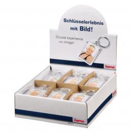 Hama akrylový pøívìšek na klíèe, malý, balení 24 ks (cena je uvedená za 1 ks)