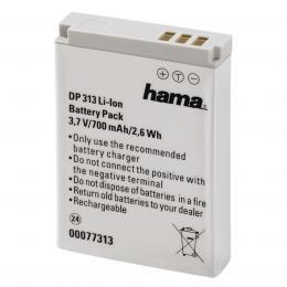 Hama fotoakumulátor Li-Ion 3,7V/700mAh, typ Canon NB-5L