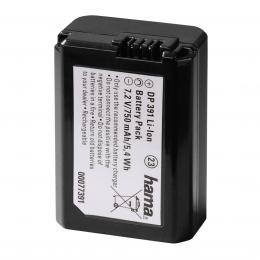 Hama fotoakumulátor Li-Ion 7,2 V/750 mAh, typ Sony NP-FW50