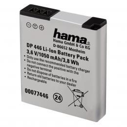 Hama fotoakumulátor Li-Ion 3,6 V/1050 mAh, typ Panasonic DMW-BCM13